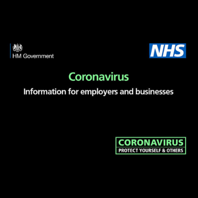 Coronavirus – government advice for businesses